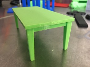 Doll House Table