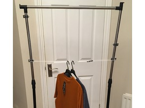 Clothes Horse Cable Retainer