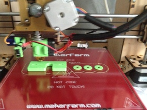 makerfarm mountingplate for the e3d v6