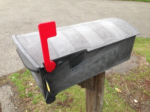 Rubbermaid Mail Box Flag
