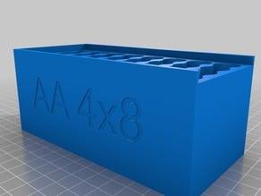 Battery storage box AAA/AA/A23