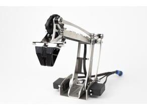 Turtle Robotic Arm 3D printed parts