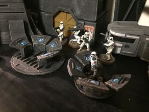 Imperial Computer Terminal (Star Wars Legion Scale)