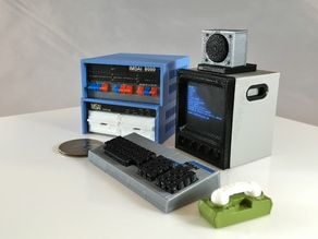 "Mini IMSAI 8080 ""Wargames"" movie set"