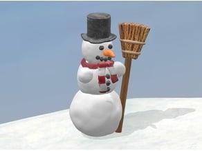 Snowman H0 / HO scale