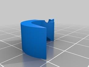 filament guide - Prusa i3 Hephestos