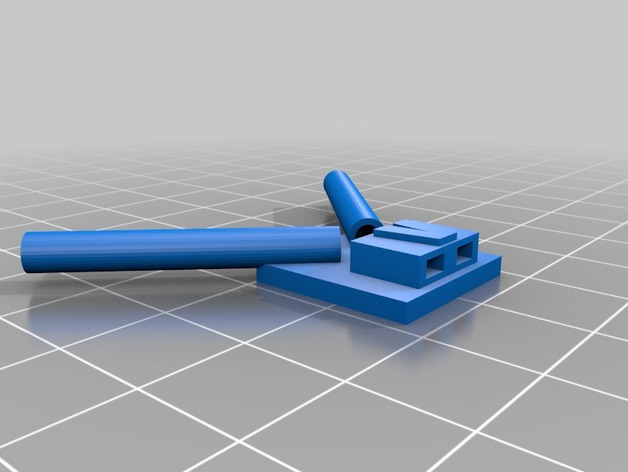 Vbar Neo Antenna Mount by rchelibuild - Thingiverse