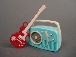MakerBot Mini Guitar
