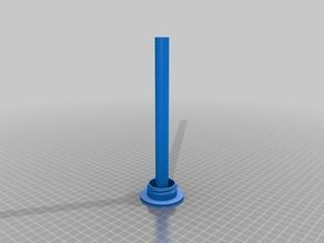 Lid Mounted Spool Holder For Solidoodle Press