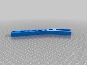 Spool holder for 19mm thick shelf V2