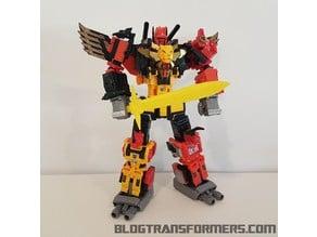 Transformers Titan Return Predaking Sword