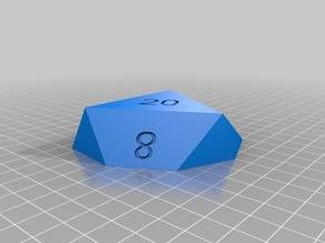 D20 box magnetic closure