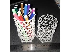 Hex Mesh Pencil Baskets