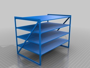 205x140x160 2x4 shelves (1:18 scale)