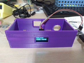 Online Particulate Matter Sensor (with SSD1306 OLED)