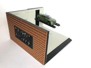 Matchbox-Scale Mechanic Garage