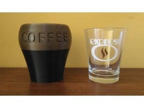 Coffee Cup Case / Estuche para taza de café