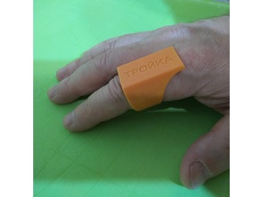Parametric finger ring with e-ticket container