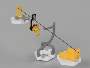 Gravitrax Compatible Cable-Car