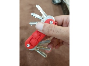 Fidget Swiss army keychain