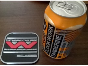 Aliens Colonial Marines Drinks Coasters / Beer Mats Set