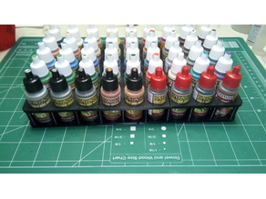 dropper bottle paint holder