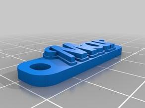 Llavero Personalizable Mar