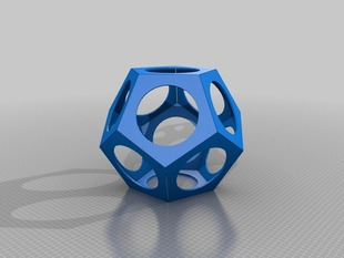Customizable Dodecahedron