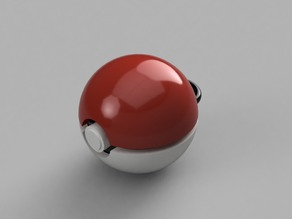 Pokemon Ball Keychain