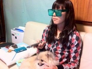 Fully printable sunglasses