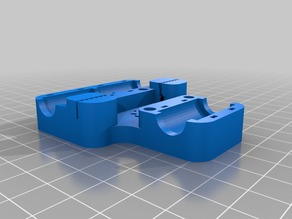 Smooth X-axis carriage 16T mod