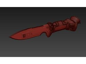 Titanfall Data Knife - Alternate Blade Model