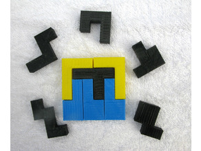 A Second Set of Six Hexomino 6x6 Tiling Puzzles