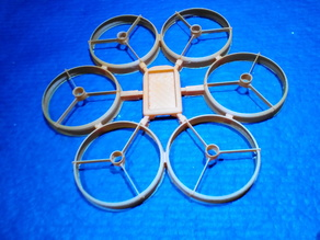 Ducted Hexacopter with 1020 motors