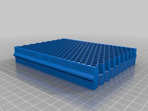 Third Comb - 3D Printable Comb for Langstroth Frames