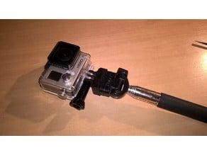 Gopro selfie pole adaptor