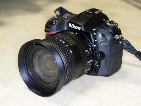 NIKKOR AF-S DX 16-80 lens hood