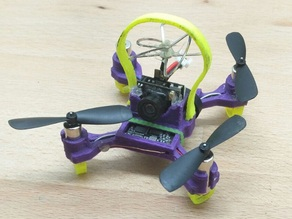 75mm micro quad frame