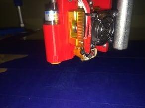 MPCNC rigid mk8 mount