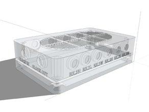 LimeSDR v1.4s Micro USB Type B case