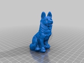 German Sheperd - 3D Scan