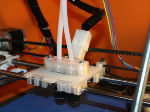 Dual Extruder X Carriage Adapter