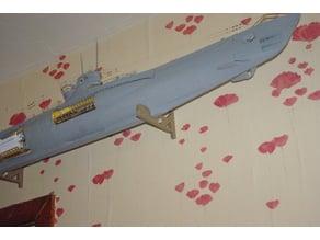 Build the U-96 U-boat Wall Mounts