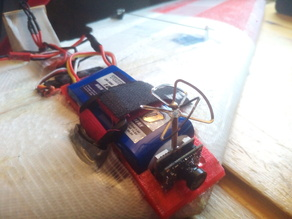 Mini FPV Cam vtx / Flight Batterie Box
