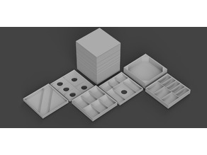 The Stack -- a tool, token, dice, and card organizer for Star Wars Legion