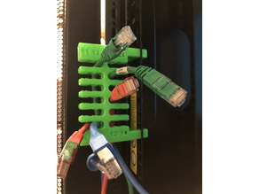 Ethernet Cable Organizer