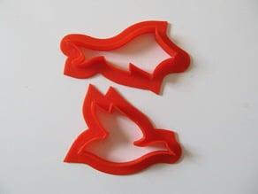 Escher Tessellable Cookie Cutter