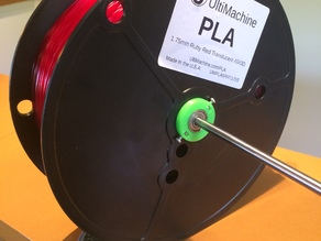 Ultimachine 5 lbs filament spool core with 608 bearings