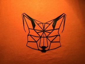 2D Fox (Low Poly)