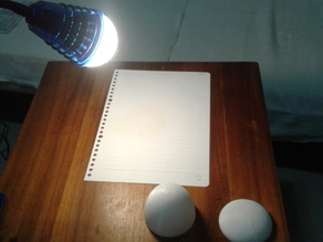 LED Lamp Dome Diffuser (3 Sizes), 68mm (67.75mm)